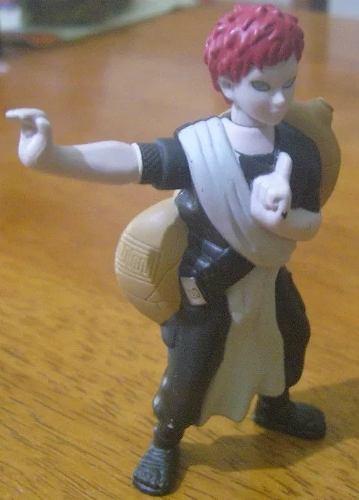 Figura Gaara Naruto De Mcdonalds Usada En Buen Estado