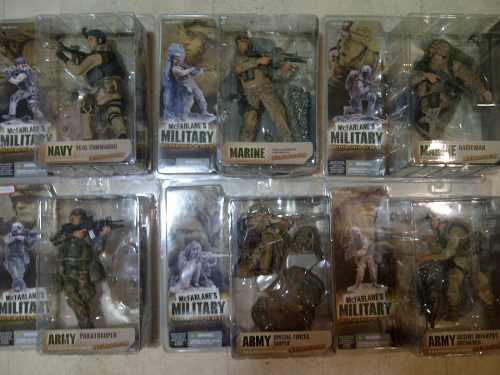 Figuras De Colección Mc Farlane's Military