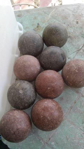 Juego De 8 Bolas Criollas Usadas En Buen.estado