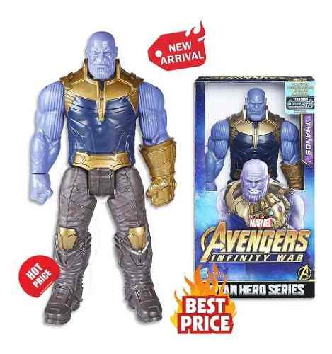 Muñeco Thanos Marvel Avengres Infinity War Hasbro 30 Cm