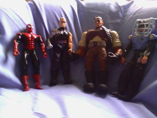 Pack De Muñecos, Max Steel, Hombre Araña Y Algo Mas,