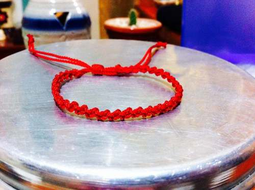Pulsera Roja Oriental. 5 Pulseras!