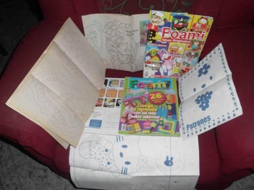 Revistas De Manualidades  Cuatro (4) Y Patrones Usados