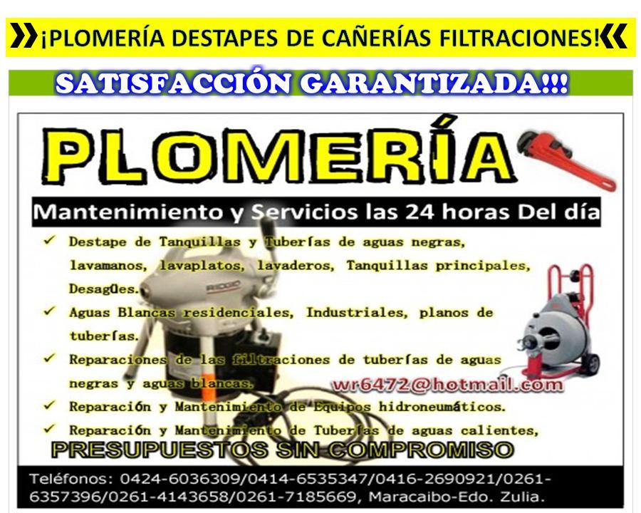 Servicio de Fontaneria y Plomeria Residencial