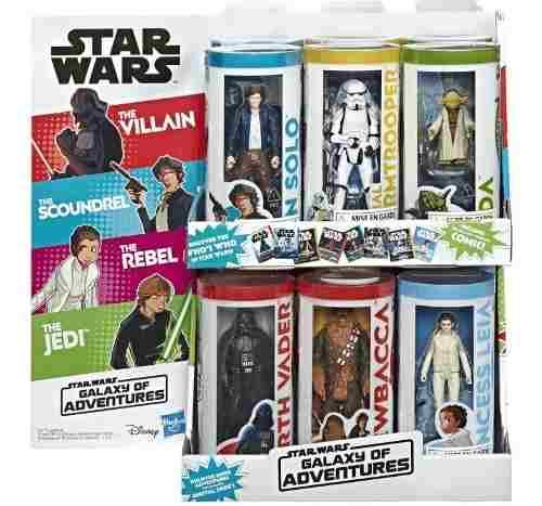 Star Wars Figuras Coleccion Juguete Hasbro Original