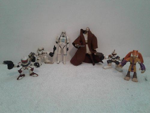 Star Wars Lote De Figuras Coleccion Jugadas