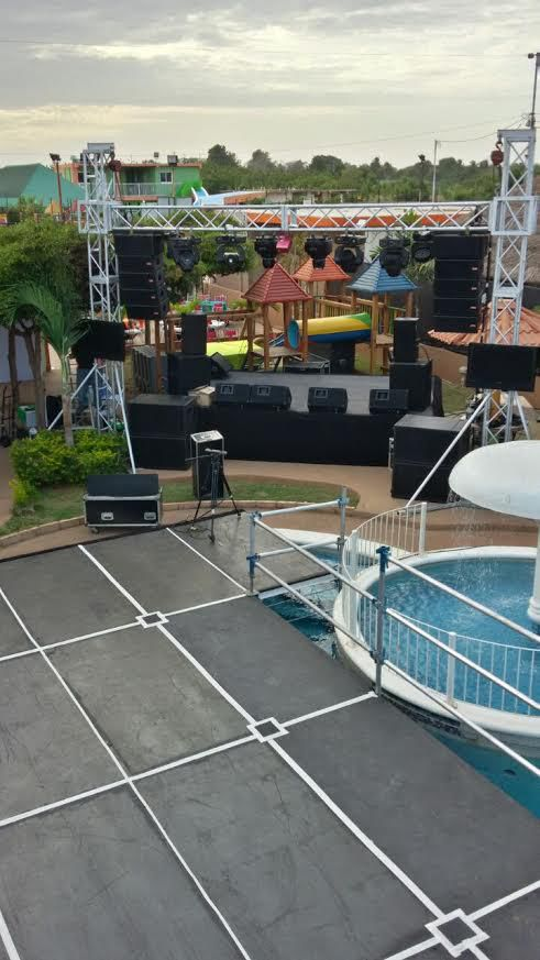 pista de baile para fiestas en maracaibo