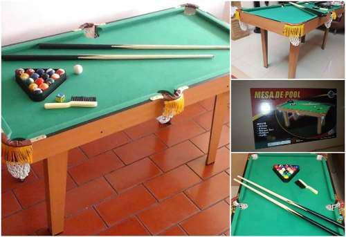 vendo Mesa De Pool, Grande Jeidy Toys Totalmente Nueva
