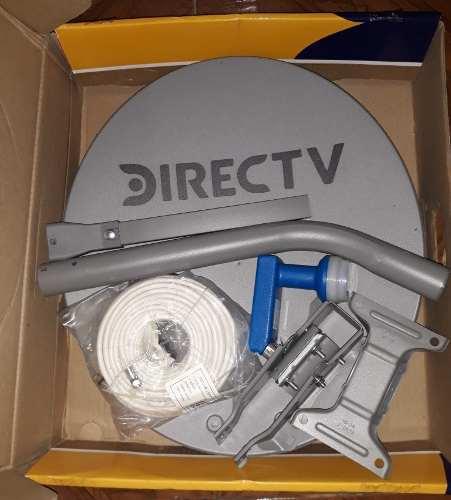 Antena Directv Nueva Con Todos Sus Accesorios