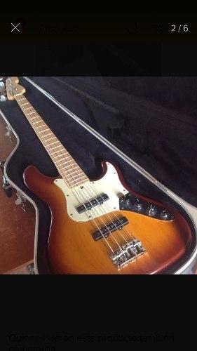 Bajo Jazz Bass Deluxe Edición Especial 4 Cuerdas Con