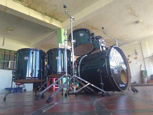Bateria Acustica Premier, Sonido Bestial Es Tuya X 500trumps