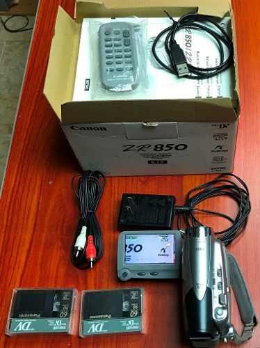 Camara Video Mini Dv Canon Zr850 Casi Nueva (be)