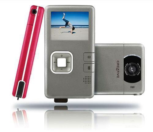 Cámara De Video Creative, Vado Pocket Nuevas!!!