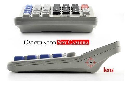 Cámara Espía Calculadora Dvr Grabador De Video Digital