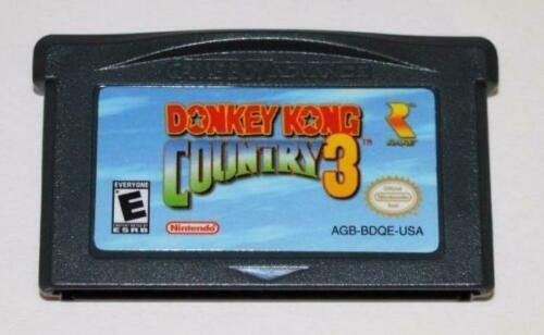 Donkey Kong Country 3 Gameboy Advance