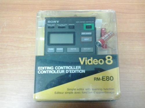 Editor De Video Y Sonido Sony Rm-e80