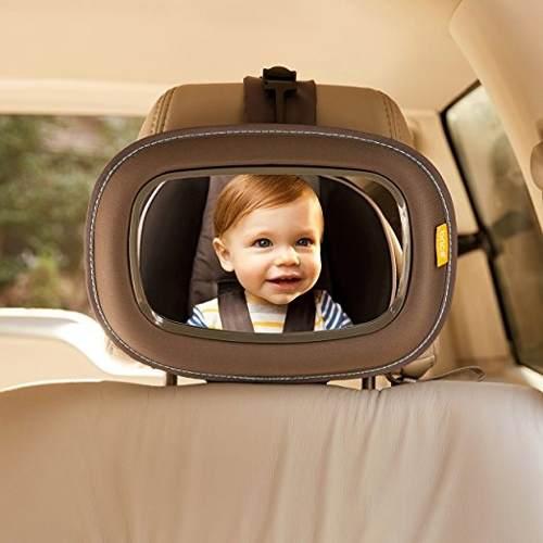 Espejo Brica Para Visualizar Bebé En El Carro.. Nuevo