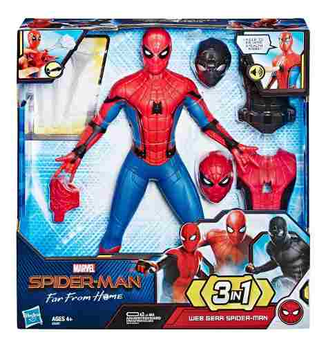Figuras De Accion Spiderman Con Sonidos Y Luces 3 En 1