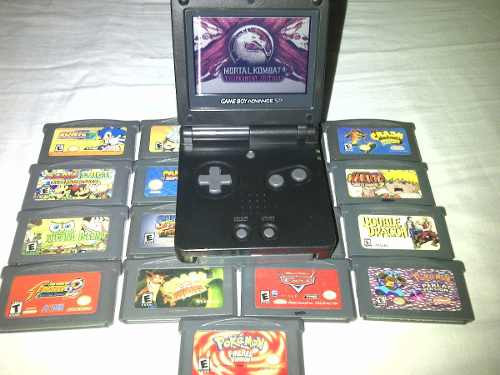 Game Boy Advance Sp + 19 Sorpresas
