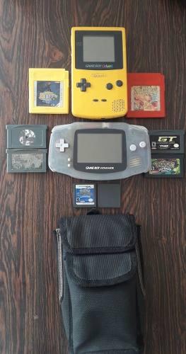 Game Boy Color Y Advance Con Juegos