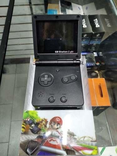 Gb Game Boy Station Retro, Con Juegos Incluidos