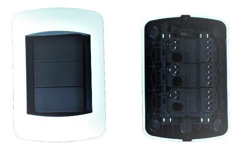 Interruptor Apagador Doble 3way 10a 120v Blanco Tipo Bticino