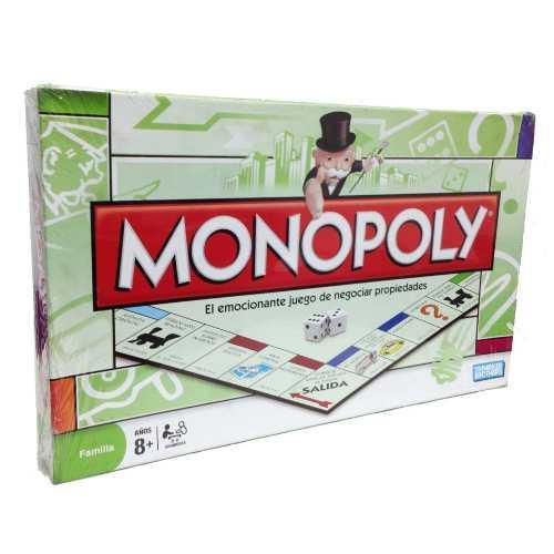 Juego De Mesa Familiar Monopoly Deluxe Grande /tienda Fisica