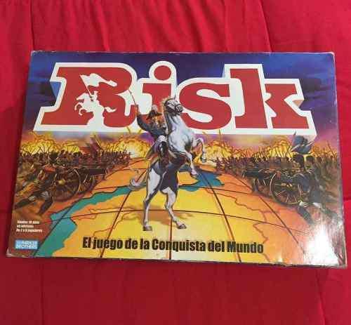 Juego De Mesa Risk Original Hasbro