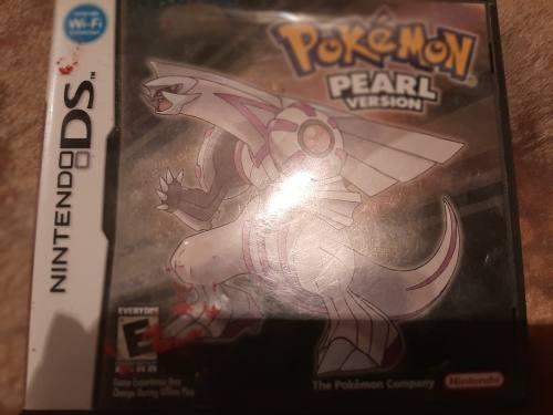 Juego De Pokémon Pearl Versión