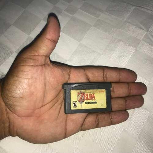 Juego Nintendo Gba Game Boy Advance 15v Zelda Four Swords