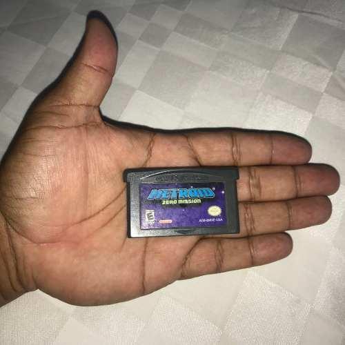 Juego Nintendo Gba Game Boy Advance 20v Metroid Zero Mission