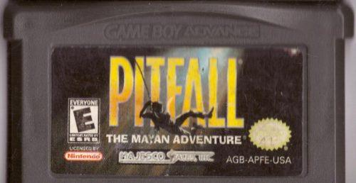 Juego Original Pitfall Mayan Adventure Gameboy Advance