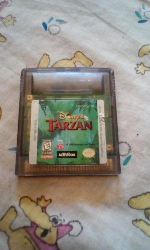 Juego Tarzan Nintendo Game Boy Año