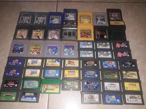 Juegos Game Boy Pokemon Yellow Blue Silver Mega Man Y Mas