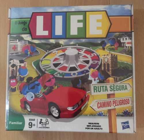 Life Juego De Mesa Familiar +9 Años 20 Verdes Hasbro