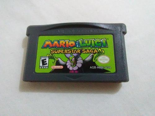 Mario & Luigi Superstar Saga Juego Game Boy Advance