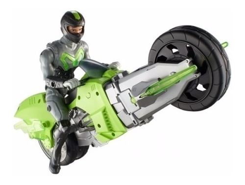 Max Steel Moto Torbellino Figura Acción Grande Oferta Ya