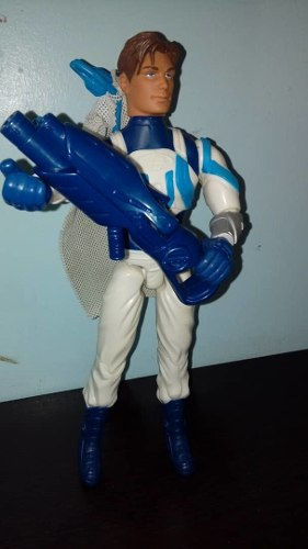 Max Steel Y Elementor Extroyer Figuras De Accion