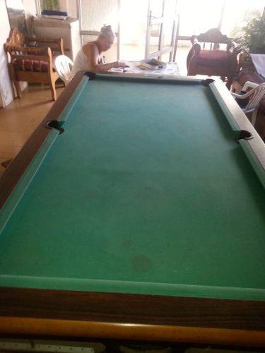 Mesa De Juego De Pool Con Todo Impecable Profesional