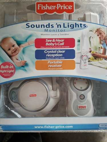 Monitor Sounds Lights Para Bebés Fisher Price Nuevo