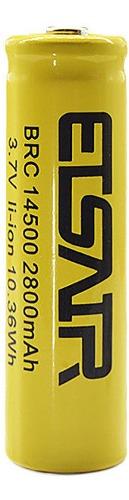Pila Batería  Aa Liion 3,7v mah Recargable