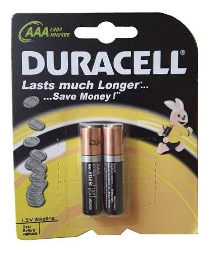 Pilas Alcalinas Duracell Aaa Y Aa /caja 12 Blister (24 Unid)
