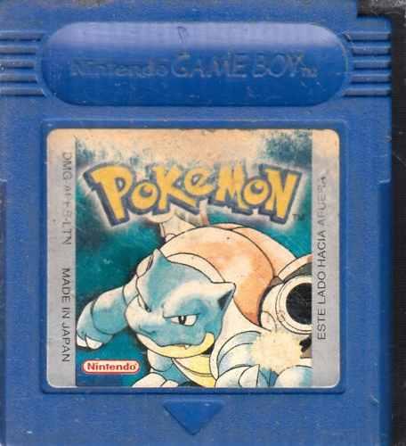 Pokemon Blue Video Juego De Game Boy Usado Qq A8