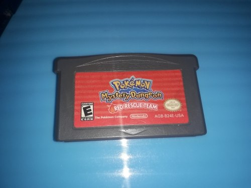 Pokemon Mystery Dungeon Red Rescue Original Game Boy Advance