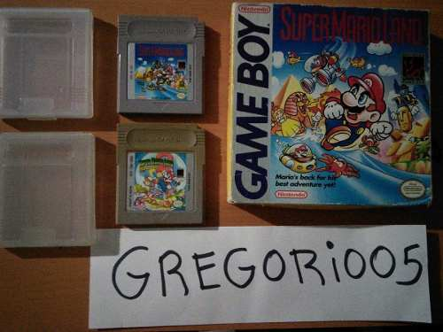 Super Mario Land 1 Y 2 Game Boy, Precio V!