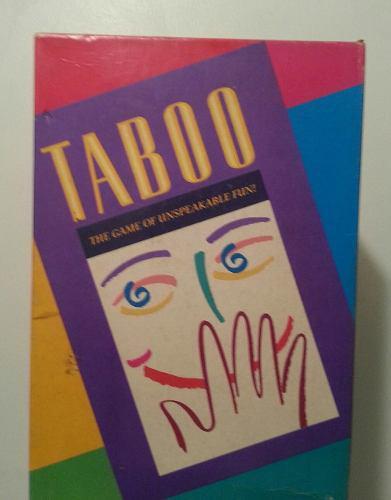 Taboo Juego De Mesa