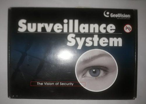 Tarjetas De Grabación Surveillance System Geovision