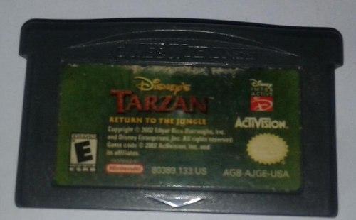Tarzan, Retur To The Jugle Juego De Game Boy Advance Qq1