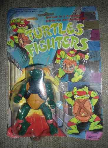 Tortugas Ninja Años 90 Figura Bootleg Rara Nueva En Caja