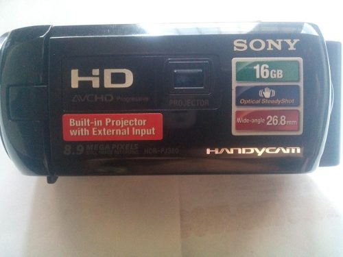 Video Camara Handycam Sony Hdr-pj380